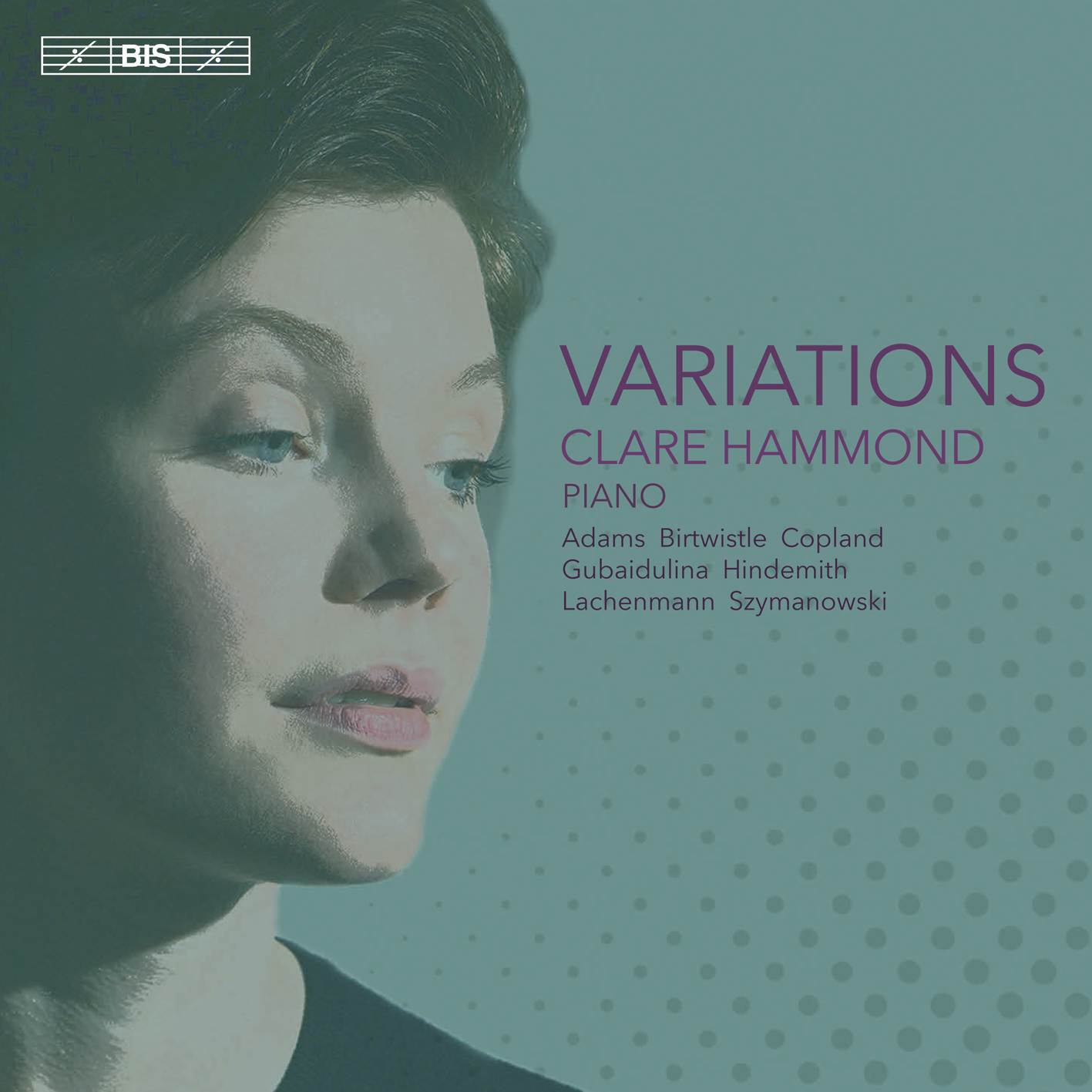 BIS Records - Variations - Clare Hammond