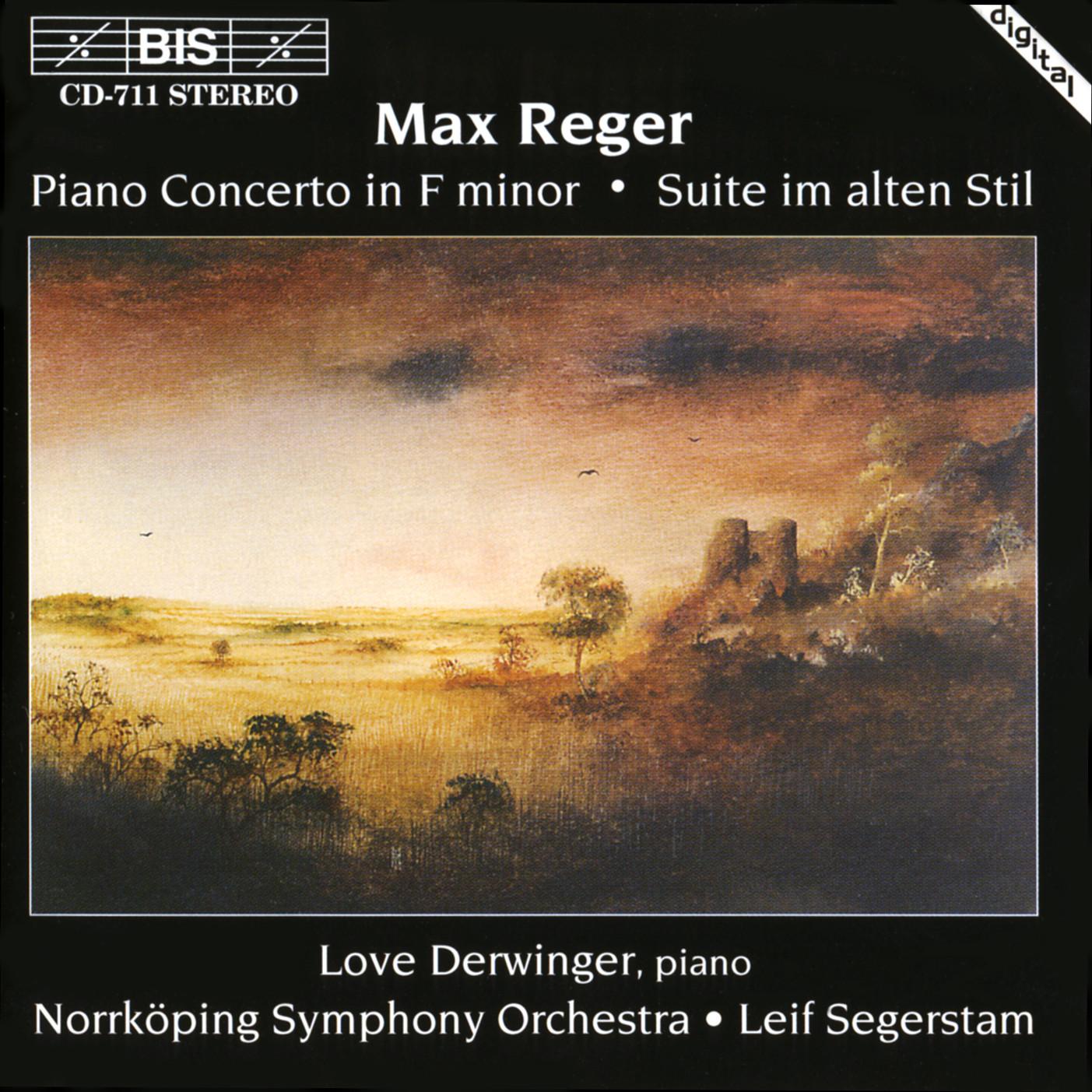 BIS Records - Reger - Piano Concerto, Op 114