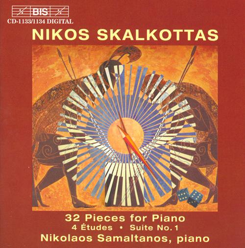 Risultati immagini per skalkottas bis 32 piano pieces