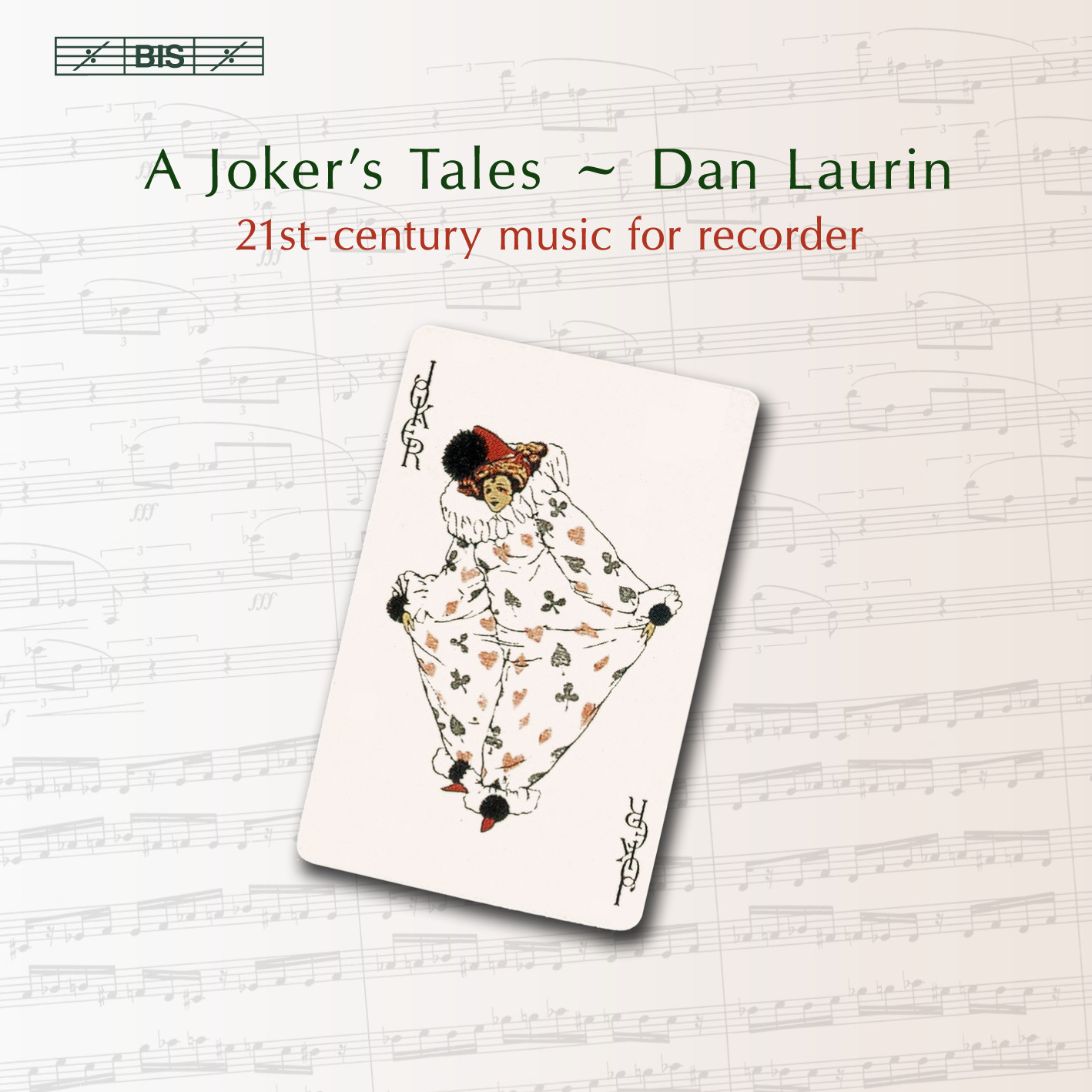 BIS Records - A Joker´s Tales - 21st-century music for recorder