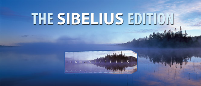 The BIS Sibelius Edition - A set of 13 thematically ordered volumes.