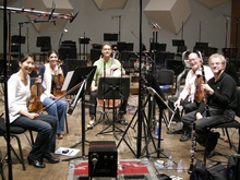 During the recording of Kalevi Aho's Clarinet Quintet (released on BIS-1886) in Minneapolis Orchestra Hall