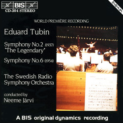 Tubin - Symphony No.2 and No.6