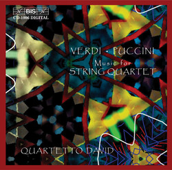 Verdi - Puccini  Music for String Quartet