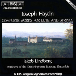 Haydn - Complete Works for Lute and Strings