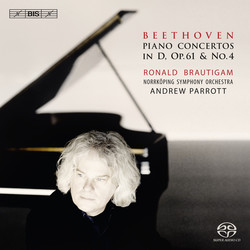 Beethoven - Piano Concertos in D, Op. 61 & No.4