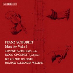 Schubert - Music for Violin, vol.1