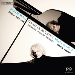 Beethoven - Piano Concertos WoO4 and No.2