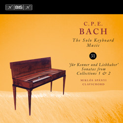 C.P.E. Bach - Solo Keyboard Music, Vol.31