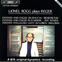 Rogg plays Reger organ works