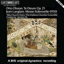Otto Olsson & Jean Langlais: Choral Works