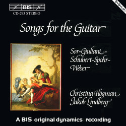Songs for the Guitar by Sor, Schubert and Weber