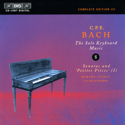 C.P.E. Bach - Solo Keyboard Music, Vol.8