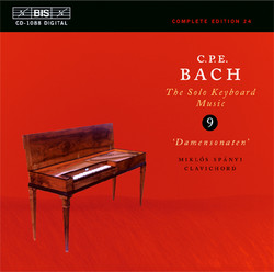 C.P.E. Bach - Solo Keyboard Music, Vol.9