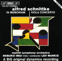 Schnittke - In Memoriam and Viola Concerto