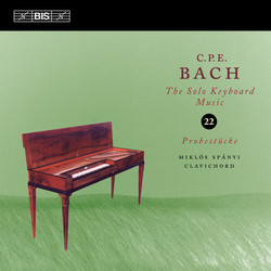 C.P.E. Bach - Solo Keyboard Music, Vol.22