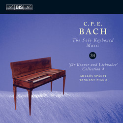 C.P.E. Bach - Solo Keyboard Music, Vol.34