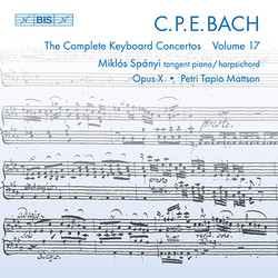 C.P.E. Bach - Keyboard Concertos, Vol.17