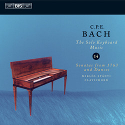 C.P.E. Bach - Solo Keyboard Music, Vol.14