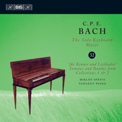 C.P.E. Bach - Solo Keyboard Music, Vol. 32