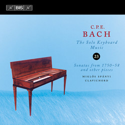 C.P.E. Bach - Solo Keyboard Music, Vol.23