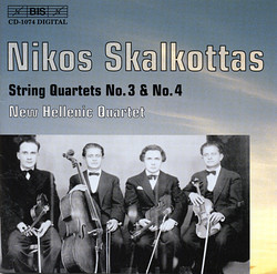 Skalkottas - String Quartets No.3 & No.4