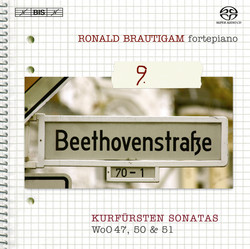 Beethoven - Complete works for solo piano, Vol.9