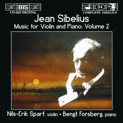 Sibelius - Music for Violin and Piano, Vol.2