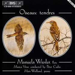 Oiseaux tendres - works for the flute
