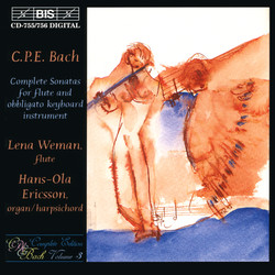 C.P.E. Bach - Complete Sonatas for flute and obligato keyboard instrument