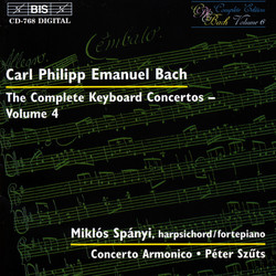 C.P.E. Bach - Keyboard Concertos, Vol.4