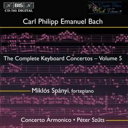 C.P.E. Bach - Keyboard Concertos, Vol.5