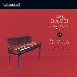 C.P.E. Bach - Solo Keyboard Music, Vol.19