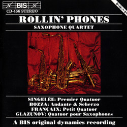 Rollin' Phones - four saxophone quartets