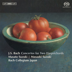 Bach - Concertos for Two Harpsichords