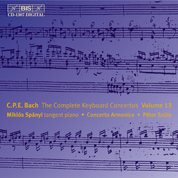 C.P.E. Bach - Keyboard Concertos, Vol.13