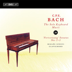 C.P.E. Bach - Solo Keyboard Music, Vol.26