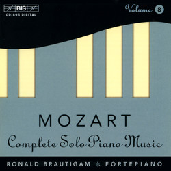 Mozart - Complete Solo Piano Music, Vol.8