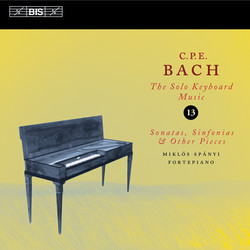 C.P.E. Bach - Solo Keyboard Music, Vol.13