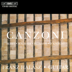 Canzoni - Italian Music for Guitar