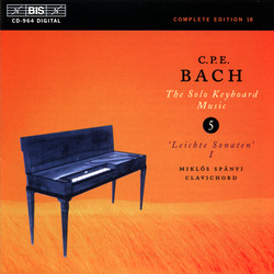 C.P.E. Bach - Solo Keyboard Music, Vol.5