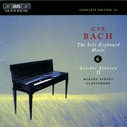 C.P.E. Bach - Solo Keyboard Music, Vol.6