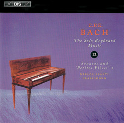 C.P.E. Bach - Solo Keyboard Music, Vol.12