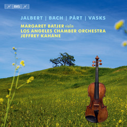 Jalbert, Bach, Pärt & Vasks - music for violin and orchestra