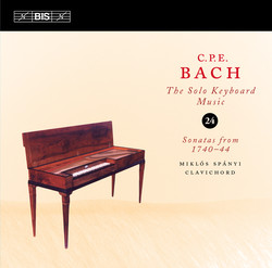 C.P.E. Bach - Solo Keyboard Music, Vol.24
