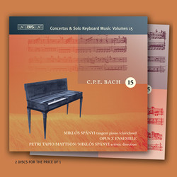 C.P.E. Bach - Keyboard Music, Vol.15